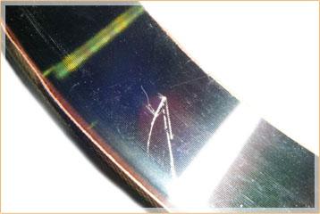 金属のバリ取り加工